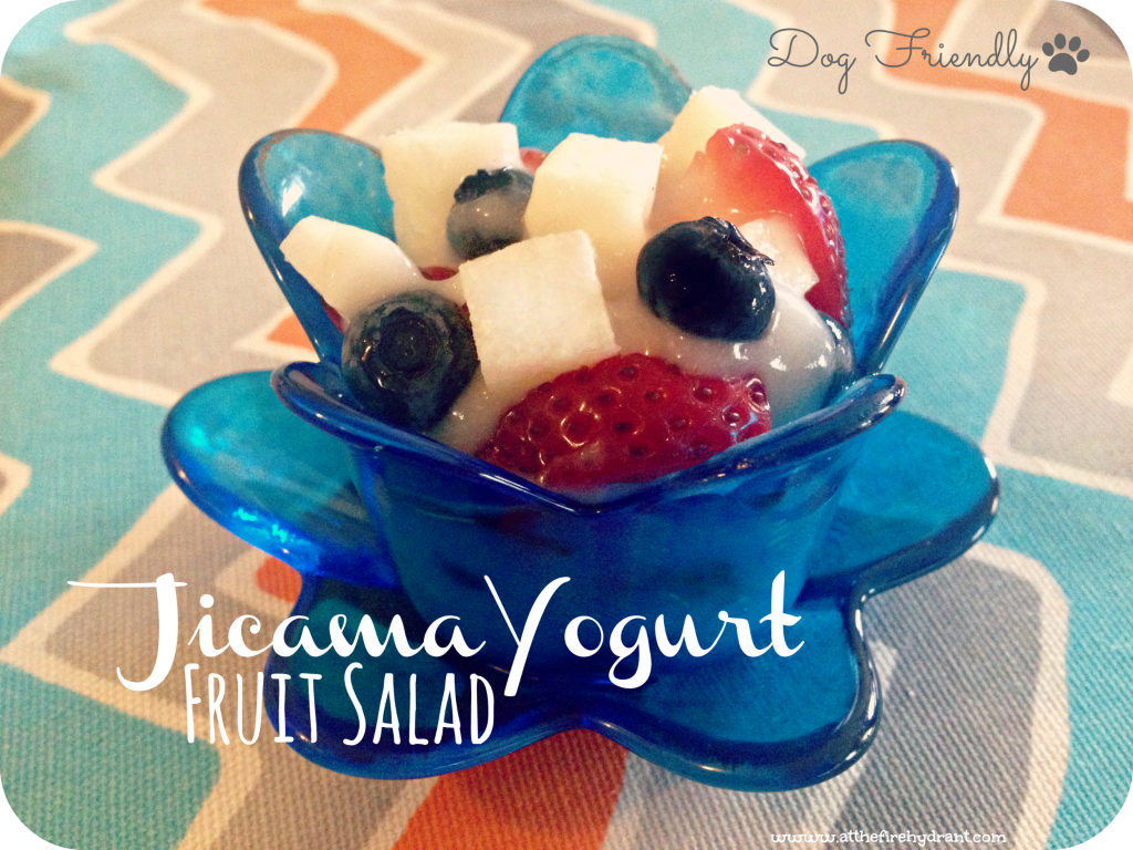 Jicama Yogurt Fruit Salad 2