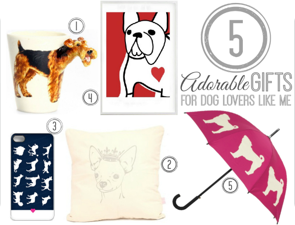 5 Adorable Christmas Gifts For Dog Lovers - At The Fire Hydrant