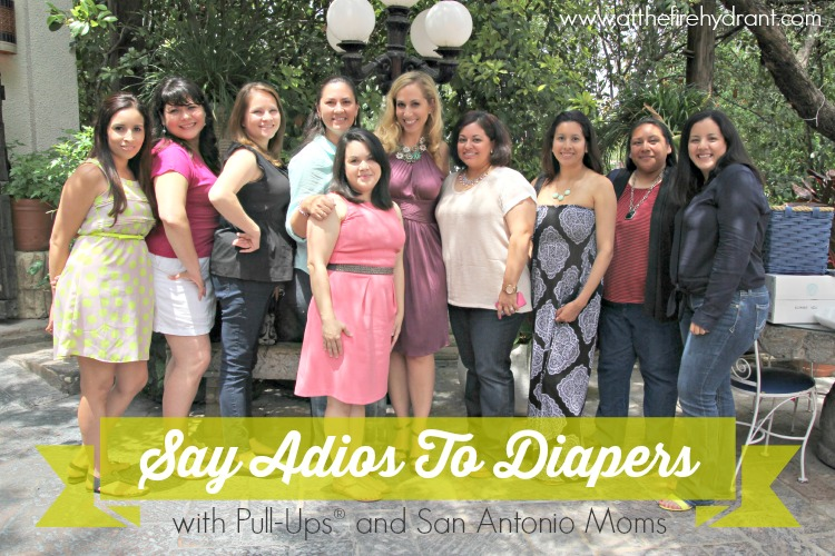 At The Fire Hydrant Say Adios To Diapers #SayAdiosToDiapers #ad
