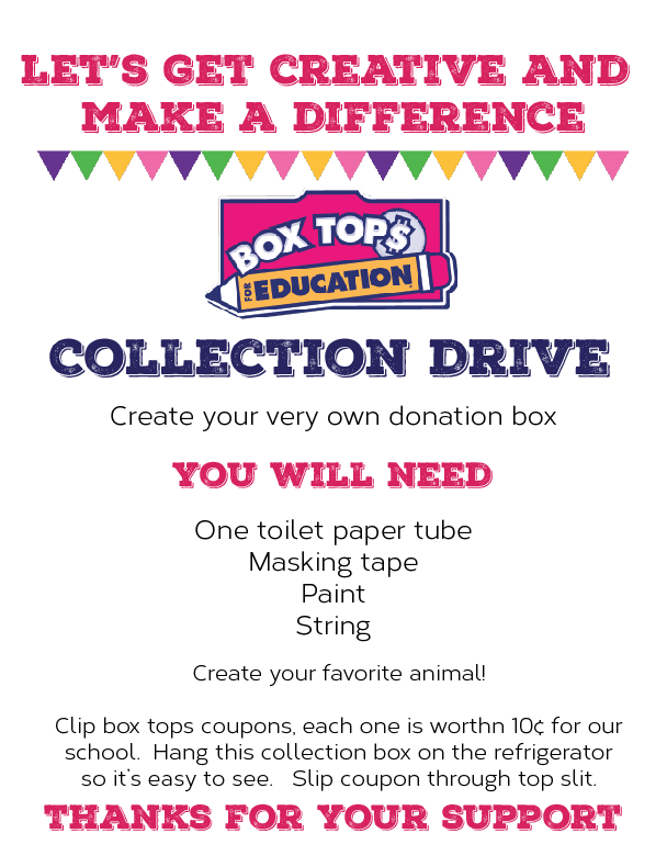 Let S Get Creative And Make A Difference With Box Tops