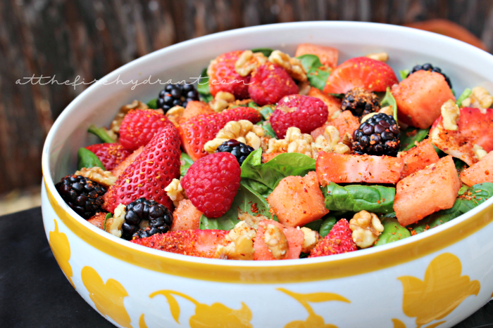 Spinach and Berry Salad to Add Brightness to Your Day – Recipe
