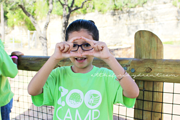 San Antonio Zoo Summer Camp - At The Fire Hydrant #ZooTroop 7