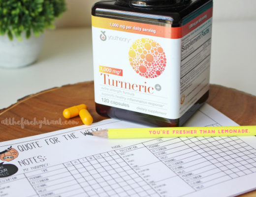 Essentials for Feeling Fresher Than Lemonade with Youtheory Turmeric #youtheoryturmeric #CostcoFinds #ad